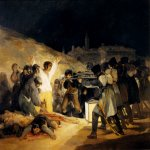 Francisco de Goya (1746-1828)  May 3, 1808  Oil on canvas, 1814  Private collection